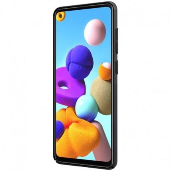 Samsung A21s Ultratunt Skal Nillkin Frosted Shield Svart