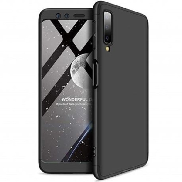 Samsung A50 360° 3in1 FullCover Skal inkl. Härdat Glas Transparent