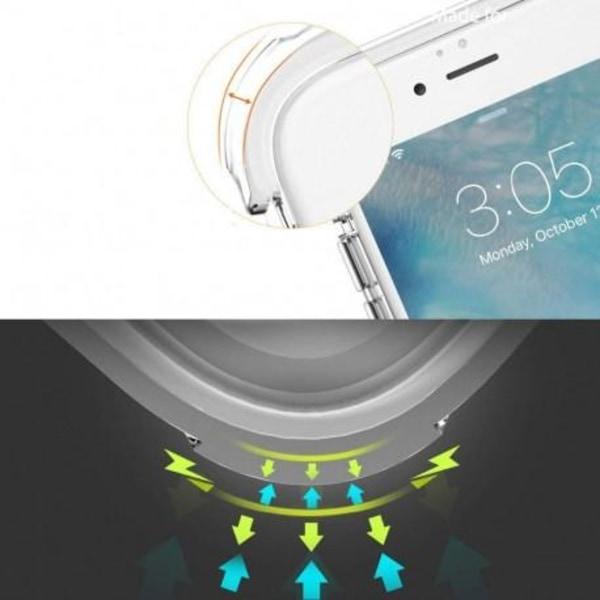 Samsung A50 Stötdämpande Silikon Skal Shockr® (SM-505FN) Transparent