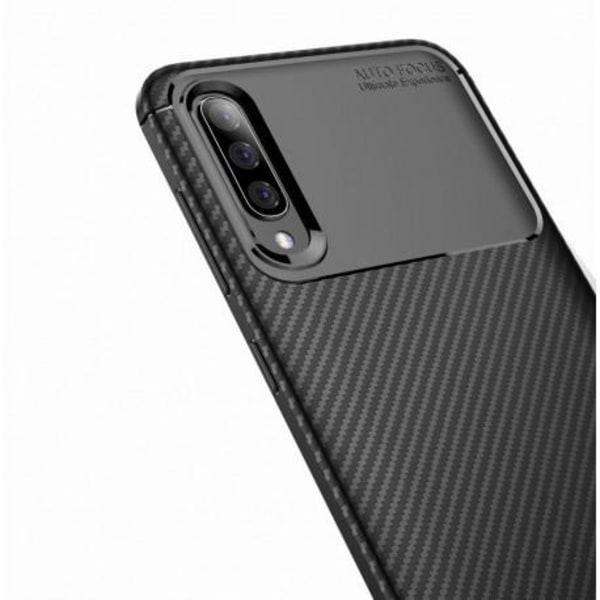 Samsung A50 Stöttåligt Skal FullCarbon® V4 (SM-A505FN/DS) Svart