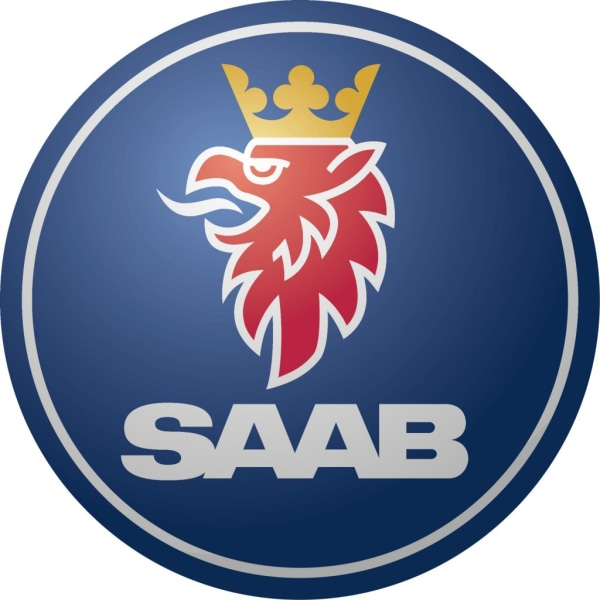 Saab dekal, finns i 3 storlekar 21 cm i diameter