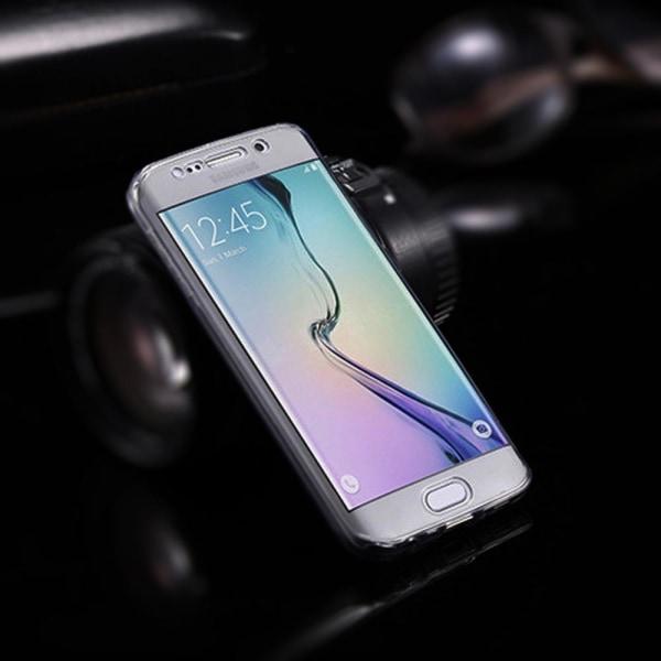360 Grad Skydd för Apple iPhone 6 / 6s Telefon Genomskinligt Mob grå
