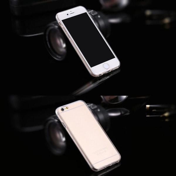 360 Grad Skydd för Apple iPhone 6 Plus / 6s Plus TPU Stötsäker K Transparent