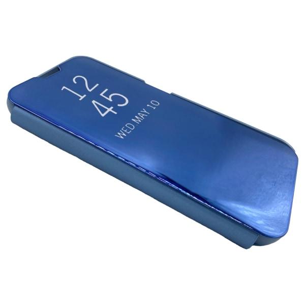 Mirror Case kompatibel med Samsung Galaxy A21s   Blå Blå