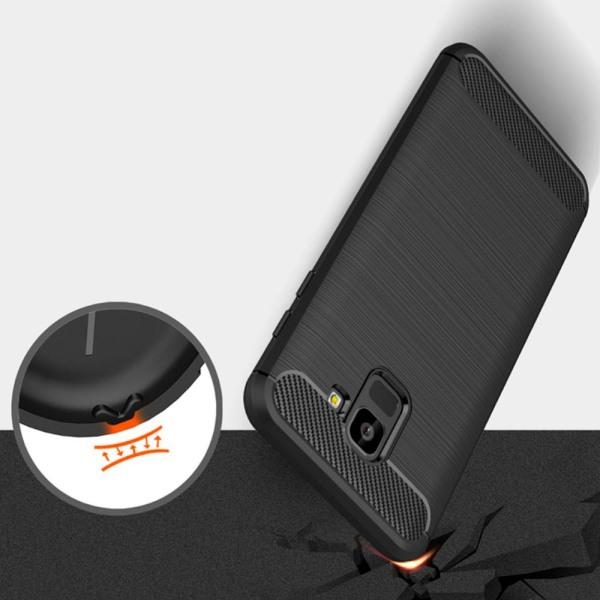 Mjukt Skal till Samsung Galaxy J6 (2018) i TPU Silikon Svart Svart