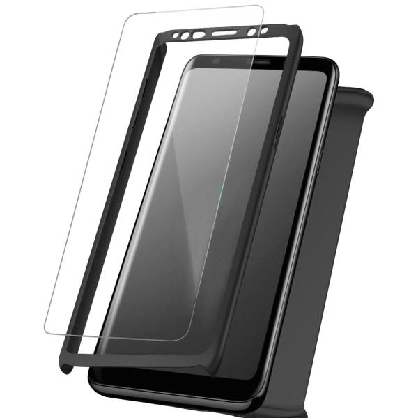 Caso completo para Samsung Galaxy S7 Protección delantera y Svart
