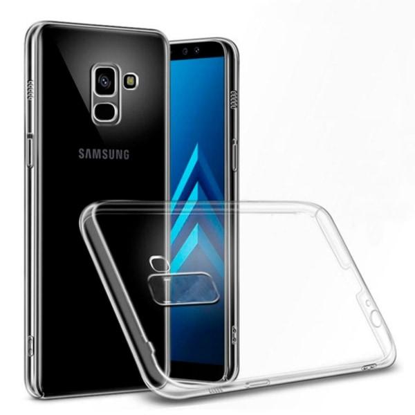 Mjukt Klart Tunnt Mobilskal för Samsung Galaxy A6+ (2018) Klart Transparent