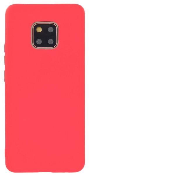 Mjukt Tunnt Mobilskal för Huawei Mate 20 Pro Silikon Skydd Röd Röd