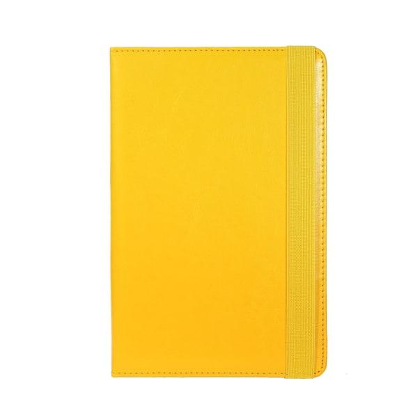 Universal 8 Zoll Plast Ställfunktion Kickstand Läsplatta Etui TP Citron gul