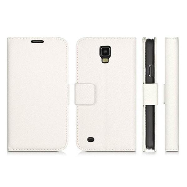 Mobilplånbok 2-kort Samsung Galaxy S4 (GT-i9500) Vit
