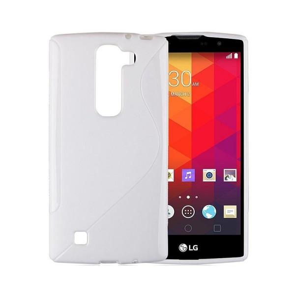 S Line silikon skal LG Spirit (H440) Vit