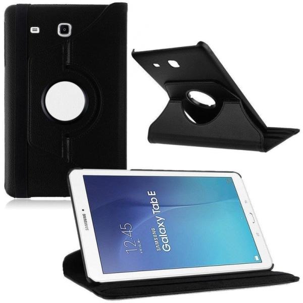 360° roterbart fodral Samsung Galaxy Tab E 9.6 T560 Svart