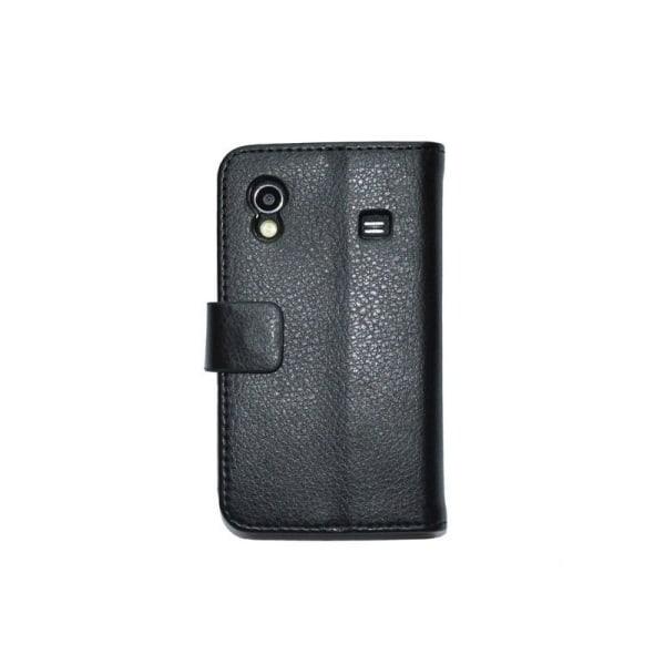 Mobilplånbok 2-kort Samsung Galaxy Ace (GT-s5830) Svart
