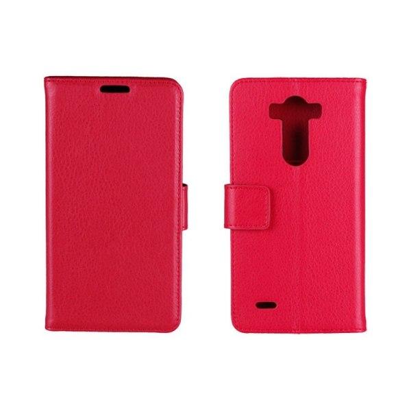 Mobilplånbok 2-kort LG G3s (D722) Röd