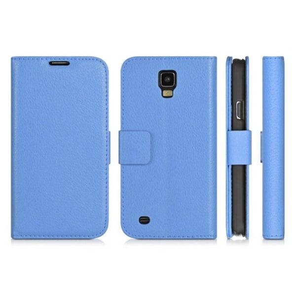 Mobilplånbok 2-kort Samsung Galaxy S4 (GT-i9500) Blå