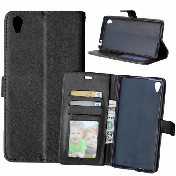 Mobilplånbok 3-kort Sony Xperia Z5 Premium (E6853) Svart