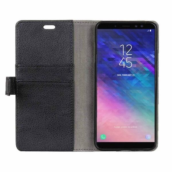 Mobilplånbok 2-kort Samsung Galaxy A6 Plus 2018 (SM-A610F) Svart