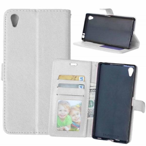 Mobilplånbok 3-kort Sony Xperia Z5 Premium (E6853) Vit