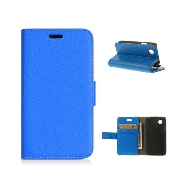 Mobilplånbok 2-kort LG L40 (D170) Blå