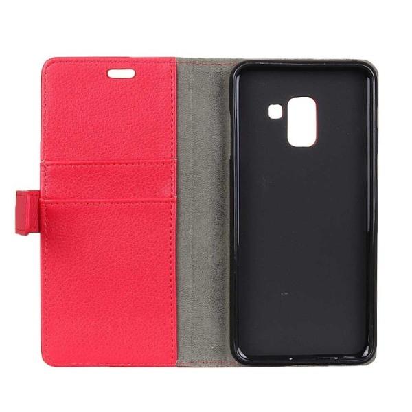 Mobilplånbok 2-kort Samsung Galaxy A6 Plus 2018 (SM-A610F) Röd