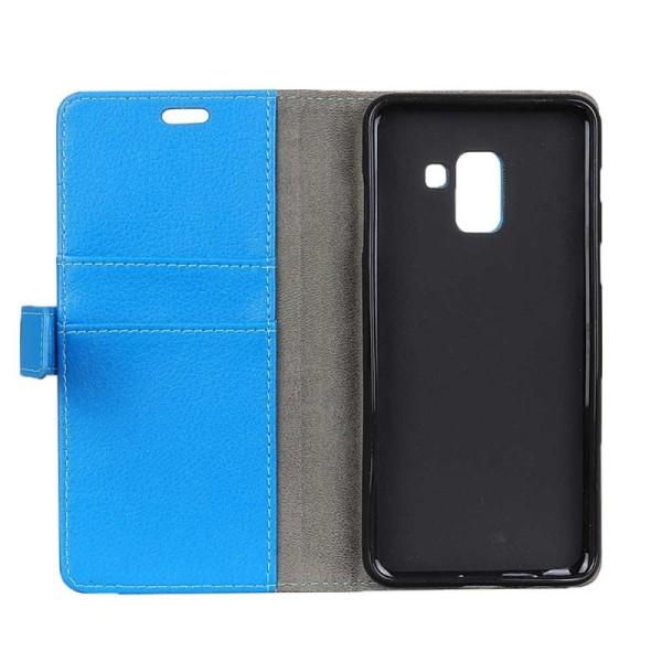 Mobilplånbok 2-kort Samsung Galaxy A6 Plus 2018 (SM-A610F) Blå