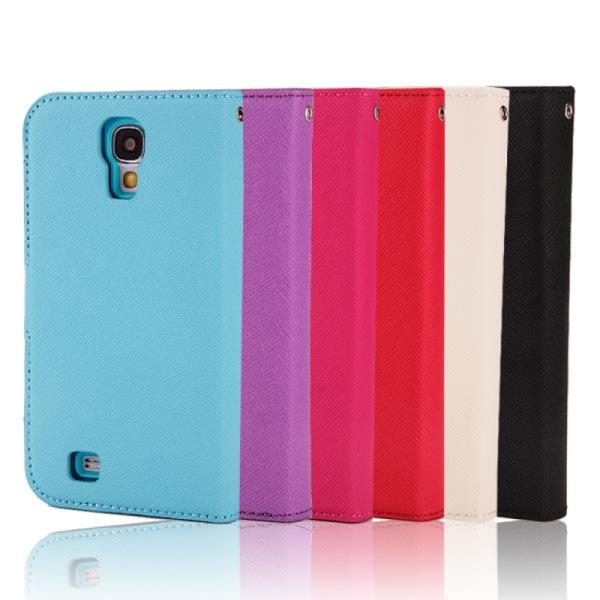 Mobilplånbok magnetisk 2i1 Samsung Galaxy S4 (GT-i9500) Ljusblå