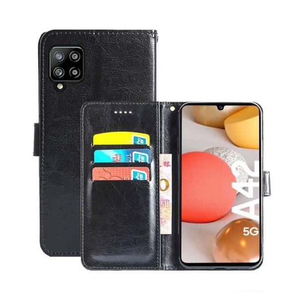 Mobilplånbok 3-kort Samsung Galaxy A42 Svart