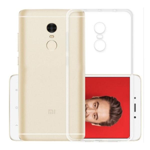 Silikon skal transparent Xiaomi Redmi Note 4