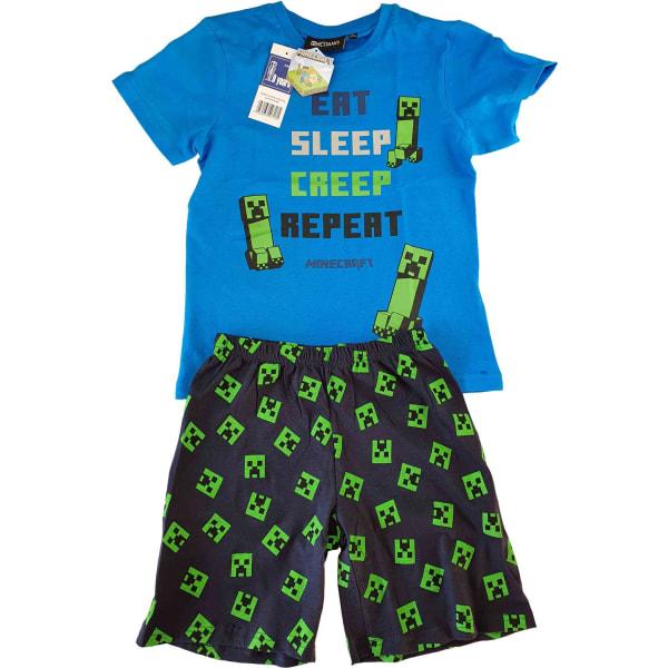Minecraft Pyjamas Green 134