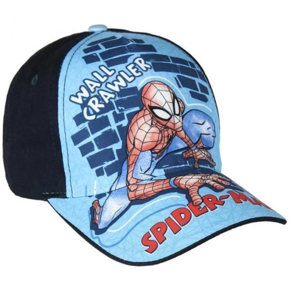 Keps Spindelmannen Svart Blå one size