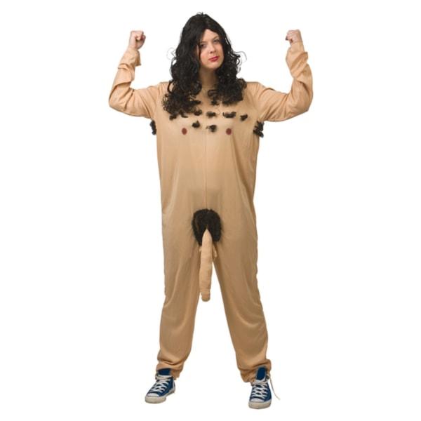 Naken Man - Maskeraddräkt (L-XL) - Halloween & Maskerad