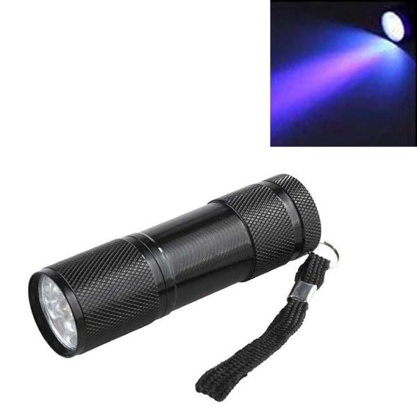 UV-lampa / Ficklampa med Blacklight - Sedeldetektor