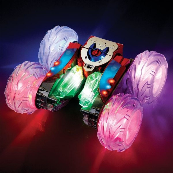Zoom Stunt Racer Stuntbil - Radiostyrd Bil  Röd