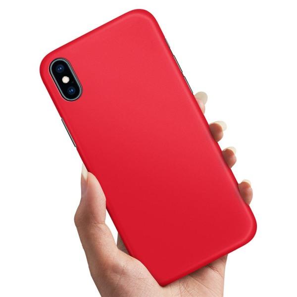 iPhone XR - Skal / Mobilskal Röd Röd