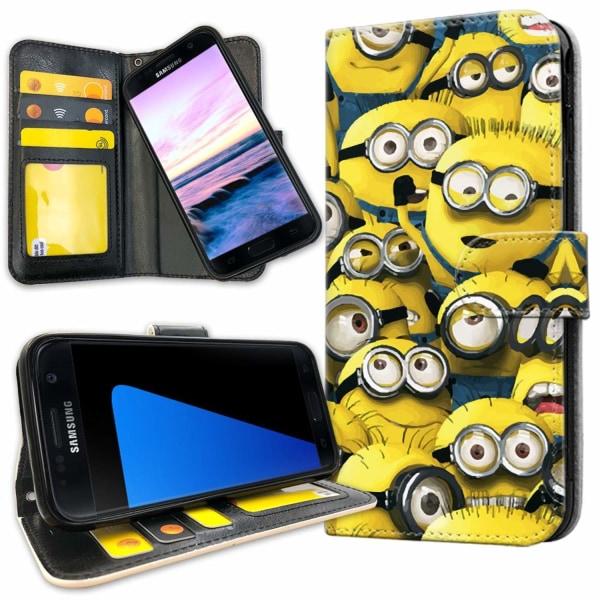 Samsung Galaxy S7 - Plånboksfodral Minions