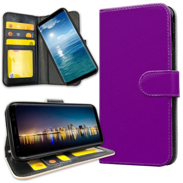 Samsung Galaxy S8 - Plånboksfodral Lila Lila
