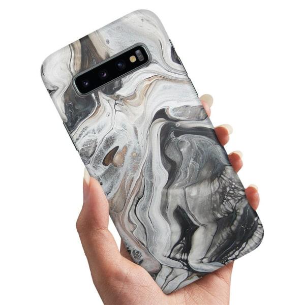 Samsung Galaxy S10 - Skal / Mobilskal Marmor