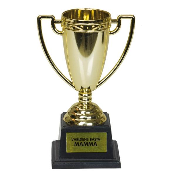 Pokal - Världens Bästa Mamma - Guld