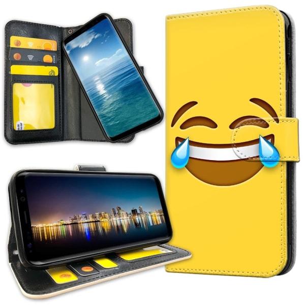 Xiaomi Mi 9 - Plånboksfodral Emoji / Smiley