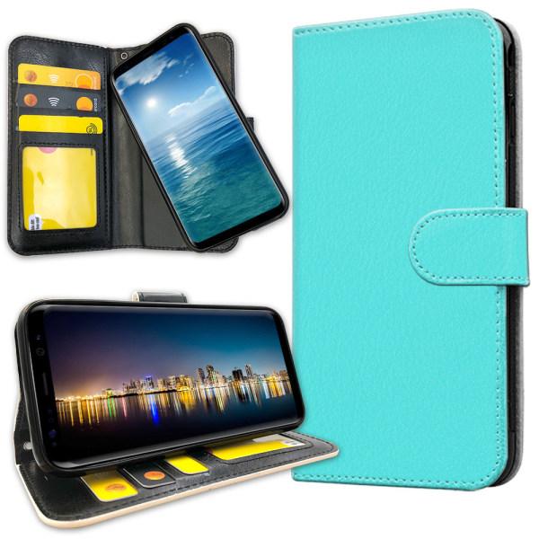 Samsung Galaxy J4 Plus - Plånboksfodral Turkos Turkos