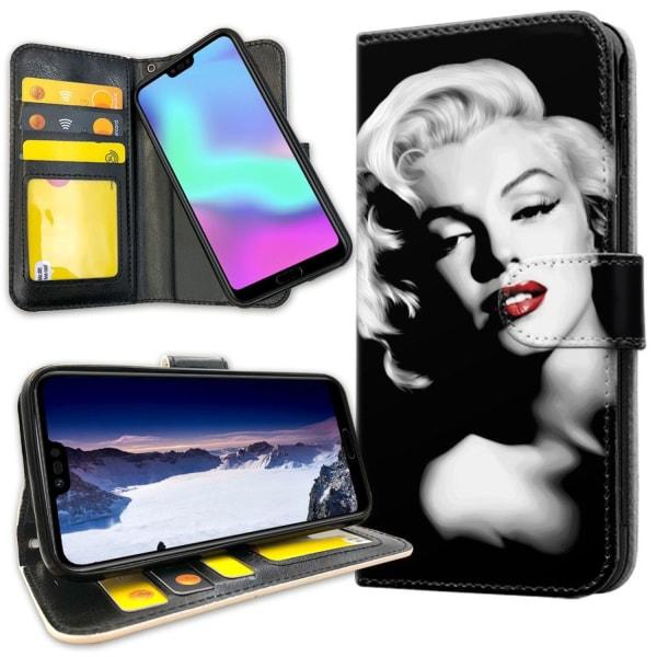 Huawei Honor 10 - Plånboksfodral Marilyn Monroe