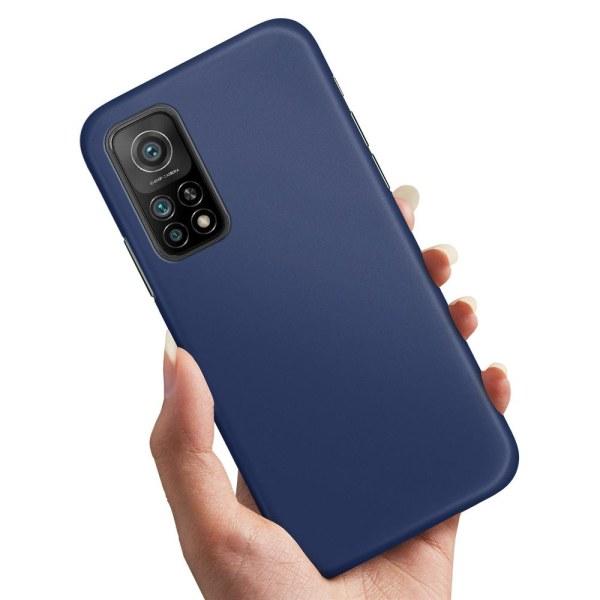 Xiaomi Mi 10T - Skal / Mobilskal Mörkblå Mörkblå