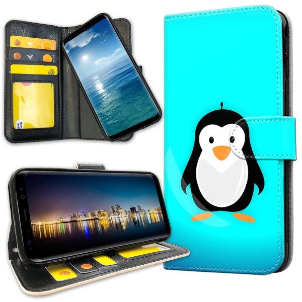 Xiaomi Mi 9 - Plånboksfodral Pingvin