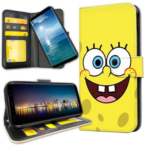 Xiaomi Mi 9 - Plånboksfodral Svampbob