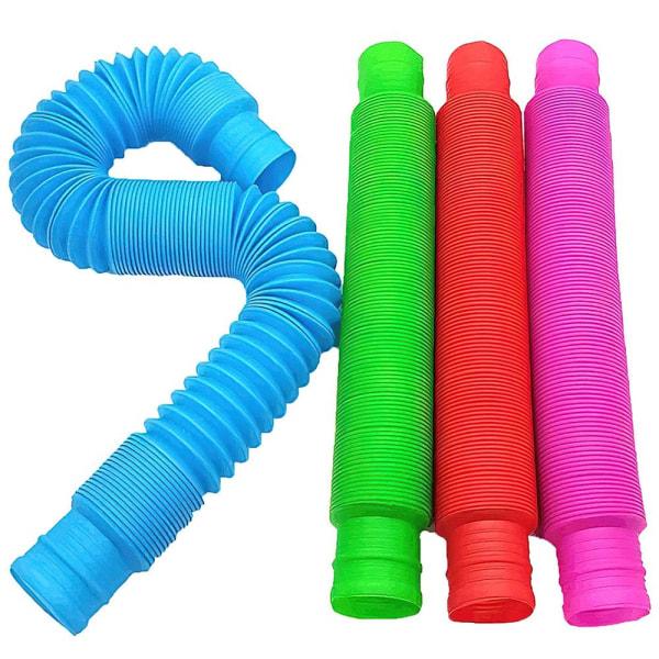 4-Pack - Pop Tube och 1st Pop It Fidget Toys - Leksak / Sensory multifärg