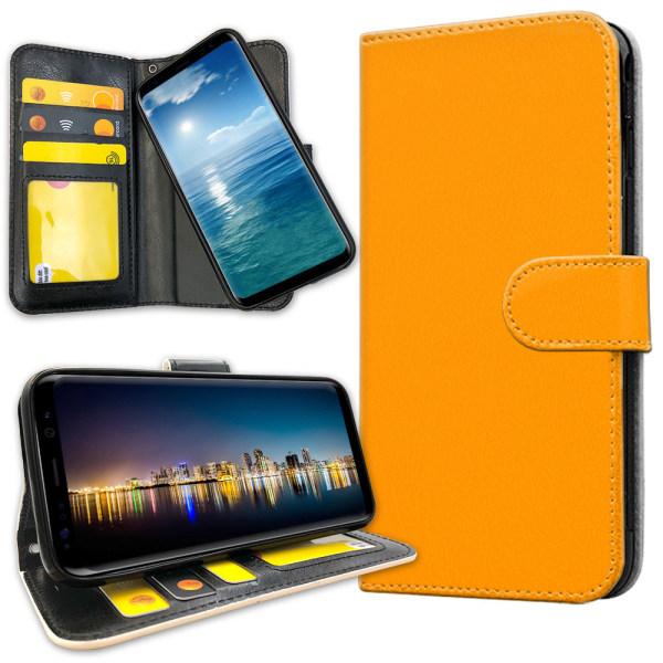 Samsung Galaxy J4 Plus - Plånboksfodral Orange Orange