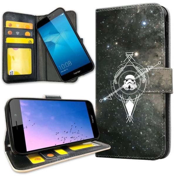 Huawei Honor 7 - Plånboksfodral Galaxkompass