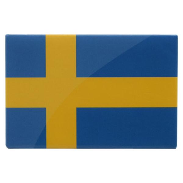 Magnet / Kylskåpsmagnet - Sverige / Svenska Flaggan