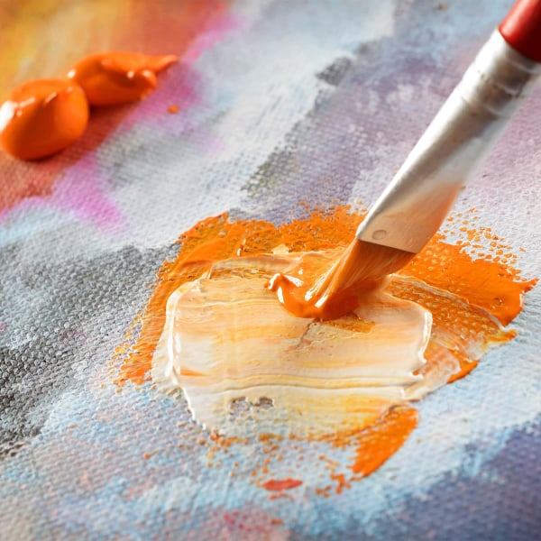 Set med Akrylfärger - 24 st färger - (12 ml) - Konstnärsfärg