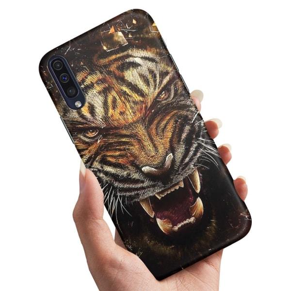 Xiaomi Mi 9 - Skal / Mobilskal Rytande Tiger